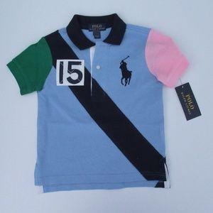 NWT Ralph Lauren SS Big Pony Banner Polo Shirt NEW